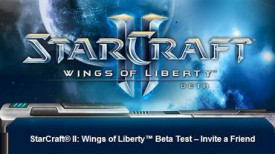 StarCraft II Beta Invites Now Going Out To Your Closest Friends