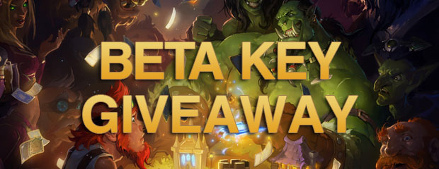 Hearthstone Beta Key Giveaway